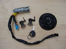 Peugeot 206 Lock set, Ignition Door Lock + Petrol Cap Kit