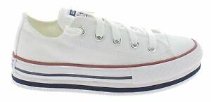 Converse Older Kids' Everyday Platform Chuck Taylor Shoes 668028C