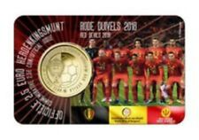 België  2018  2,5 euro in Coincard  WK Rusland  Rode Duivels Vlaamse versie  !!