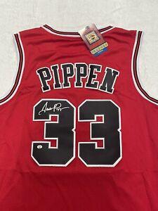 Scottie Pippen Autographed Signed Chicago Bulls NBA Jersey COA