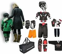 Ice Hockey Starter Set Bauer S18 10 Pieces Kids Junior