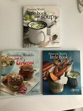 3 SLIMMING WORLD BOOKS - BRAND NEW- LITTLE BOOK OF BARBECUE, LIGHT BITES & SOUPS