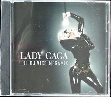 "LADY GAGA ""THE DJ VICE MEGAMIX"" 2008 CD MIXED PROMO INTR-12496-2 ~RARE~ *SEALED*"