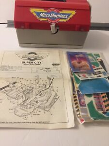 **NEW** Vintage Micro Machines **RARE** Super City Toolbox 1988 Galoob Toys