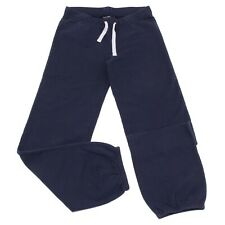 9828V pantalone tuta bimba RALPH LAUREN blue sweat pant cotton kid
