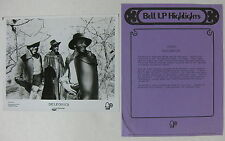 The Delfonics Alive & Kicking 1974 Us Promo Press Kit Philly Soul