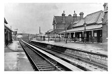pt0043 - Whitby Railway Station , Yorkshire - photo 6x4