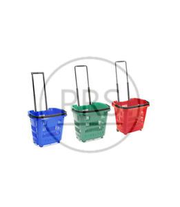 PLASTIC SHOPPING TROLLEY BASKET SUPERMARKET RETAIL STORE SHOP