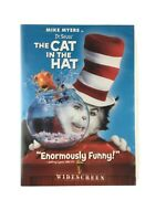 Dr. Seuss The Cat in the Hat DVD 2004 Widescreen Edition Mike Meyers