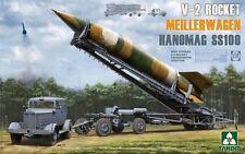 Takom 1:35 V-2 Rocket w/ Transporter Erector Meillerwagen & Hanomag SS100 #2030