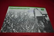 John Deere 25 Forage Harvester Dealers Brochure AMIL11 In Dutch ver2