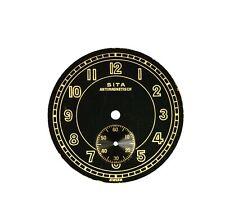 Zifferblatt Ersatzteil f SITA ARMBANDUHR D30,5 old watch dial