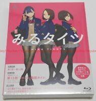 Miru Tights First Limited Edition Blu-ray Soundtrack CD Booklet Japan English