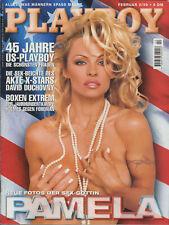 PLAYBOY Februar 1999 deutsche Edition / PAMELA ANDERSON nackt naked nude +more
