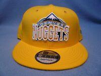 New Era 9Fifty Denver Nuggets Solid Alternate Snapback BRAND NEW hat cap NBA