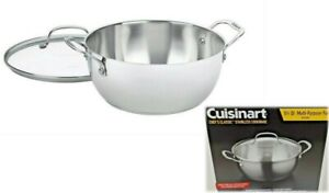 Cuisinart Chef's Classic Stainless Steel Cookware Pot 5 1/2 Multi-Purpose Pan