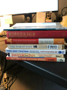 Seven Books on Chronic Pain Management. By Doctors Good or Better Condition. $25