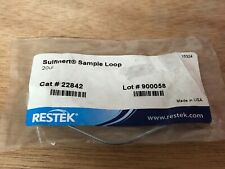 Restek 22842 Sample Loop 20ul Sulfinert New