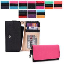 Protective Wallet Case Clutch Cover & Organizer for Smart-Phones KroO ESMT10