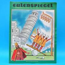 Eulenspiegel 8/1986 | DDR-Wochenzeitung für Satire und Humor | Geburtstag A