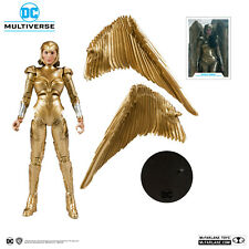 McFARLANE TOYS DC MULTIVERSE WONDER WOMAN 1984 GOLDEN ARMOR IN HAND!