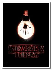 Hot Sale 12x17inch Stranger Things Horror TV Silk Poster Cool Gift Free Shipping