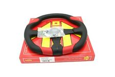 MOMO Steering Wheel Quark Red Polyurethane 350mm QRK35BK0R