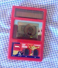 Casio CG-32 Gioco solare Handheld Games anno 1983 Cat Hand