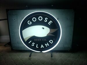 Chicago Goose Island Neon Sign' With HD Vivid Printing