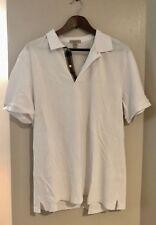 Burberry Brit Men's short sleeve polo shirt ~ White ~ XXL