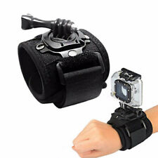 360 Degree Rotation Wrist Hand Strap Band Holder W/Mount For GoPro 1 2 3 3+ 4