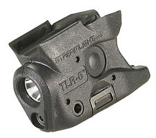 Streamlight 69273 TLR-6 S&W M&P Shield Black Tactical Light, w/Red Aiming Laser