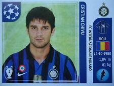 Panini 77 cristian chivu FC Internazionale uefa cl 2011/12