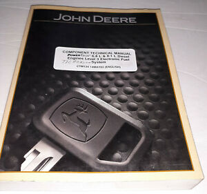 2001 John Deere 6.8L & 8.1L Diesel Engines L3 Technical Electronic Fuel Manual