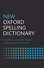 New Oxford Spelling Dictionary,