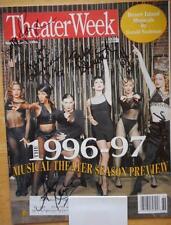 Signed Theater Week Magazine Chicago Bebe Neuwirth  Ann Reinking  Denise Faye +3