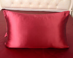 1pc 30 Momme 100% Mulberry Silk Pillowcases Both Face Silk Pillow Cases Covers