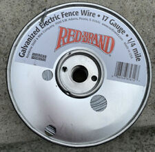 Red Brand Galvanized Electric Fence Wire 17 Gauge 14 Mile Roll Nos
