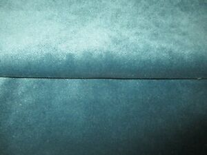 LUXURY CLASSIC TEAL VELVET UPHOLSTERY FABRIC, HEAVY WEIGHT FIRE RETARDENT