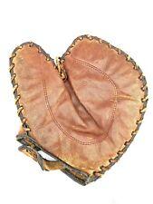 Vintage Spalding #83 Baseball Mitt Glove First base 1927 patent