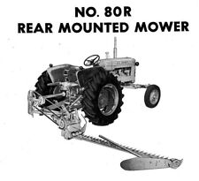 Allis Chalmers Ca No 80r Power Snap Coupling Sickle Mower Owners Parts Manual