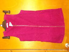 "M&S Pure Cotton A-Line Cord Shift Dress 11-12yrs Ch 30.5"" 152cm Berry BNWT"