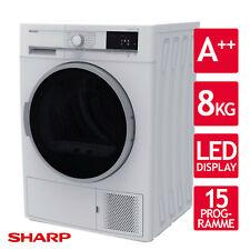 Sharp KD-GHB8S7GW2-DE Wärmepumpen-Kondensationstrockner - Weiß/silber (10716152)