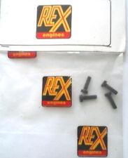 REX ENGINES - NOVAROSSI RICAMBI VITI TESTA 3,5X14 mm   ART 7/01T