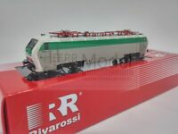 RIVAROSSI HR2767 - FS locomotiva elettrica E 402B 177, livrea di origine, epoca