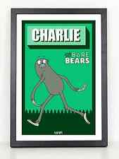 We Bare Bears Charlie poster print