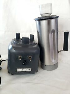 Hamilton Beach Blender Comercial Model HBF500S Motor And Container