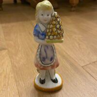 Statue figure figurines ❤️ Décoration - Dame Pâtisserie 14cm - Pâques mariage