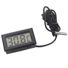 Small Digital LCD Display Indoor Temperature Meter Thermometer Temp Sensor Probe