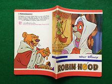 ROBIN HOOD WALT DISNEY Quaderno scuola vintage A5 righe 3 , Pigna (70s) copybook